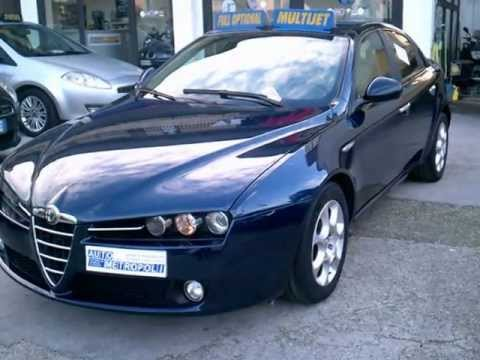 alfa romeo 159 1 9 jtdm 150cv exclusive youtube. Black Bedroom Furniture Sets. Home Design Ideas