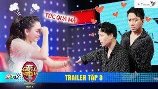 Giọng Ải Giọng Ai 4  Trailer Tập 3: Trấn Thành, Trịnh Thăng Bình hề hước hợp sức chọc tức Hari Won