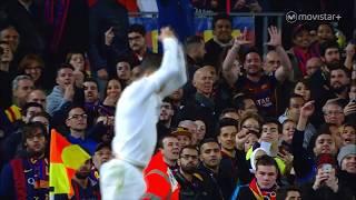 Cristiano Ronaldo emotions vs Barcelona