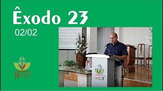 Exposição bíblica em Êxodo 23 Pr. Clélio Simões - EBD 02/02/2020