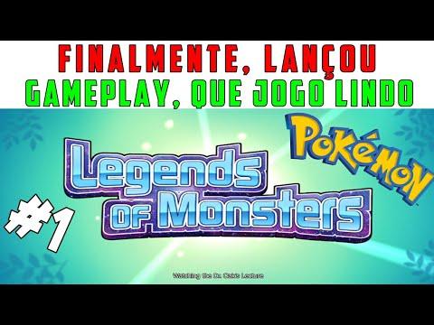 LEGENDS OF MONSTERS: Lançou! Gameplay O Início, Que Jogo Lindo • MONSTER VS •