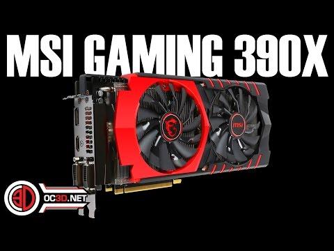 MSI AMD R9 390X Gaming GPU Review