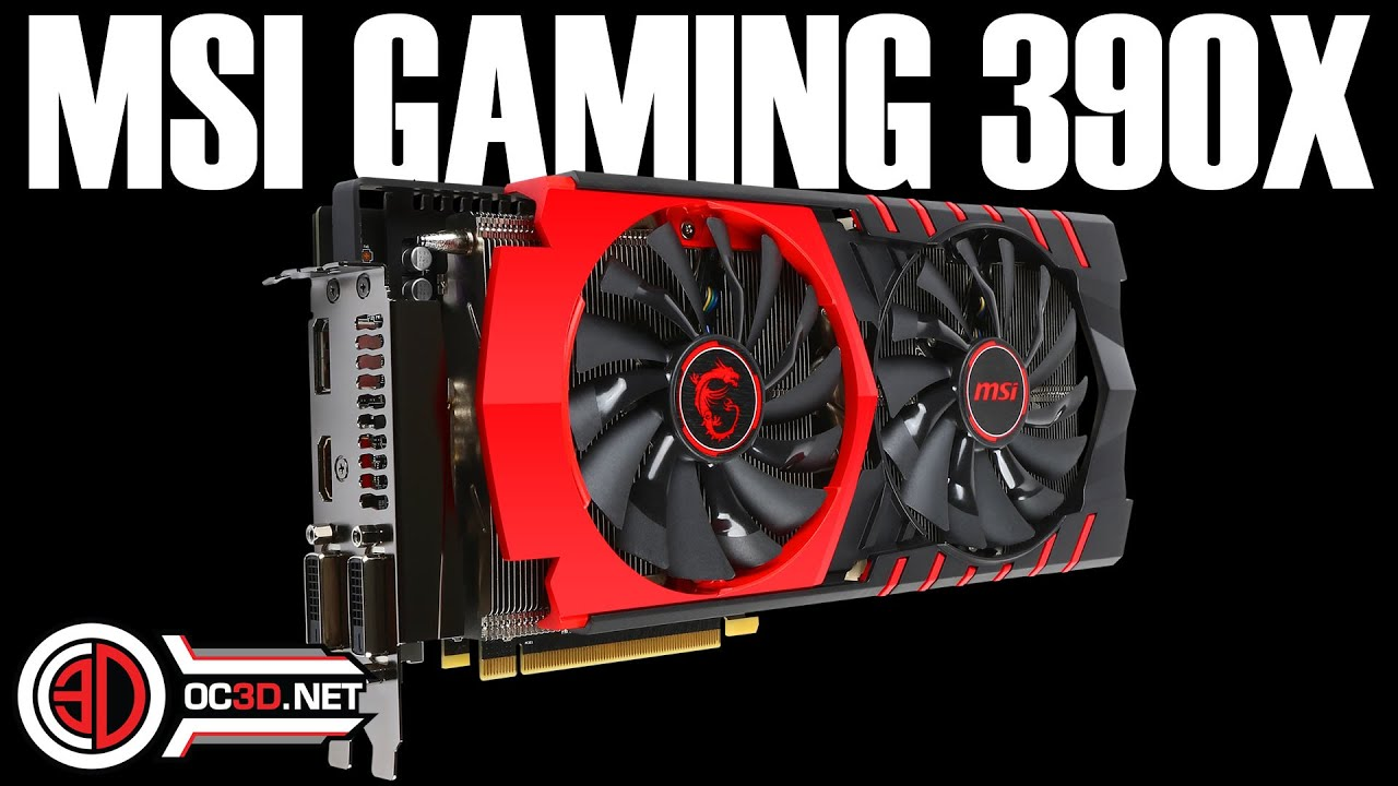 MSI AMD R9 390X Gaming GPU Review