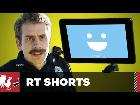 RT Shorts - Cop Tickets Self-Driving Car