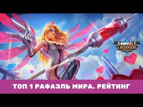 ТОП 1 ГЛОБАЛ Рафа. Быстрый РАНГ. Mobile Legends.  Wonderbelka
