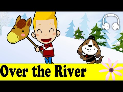 Over the River and Through the Woods | Family Sing Along - Muffin Songs