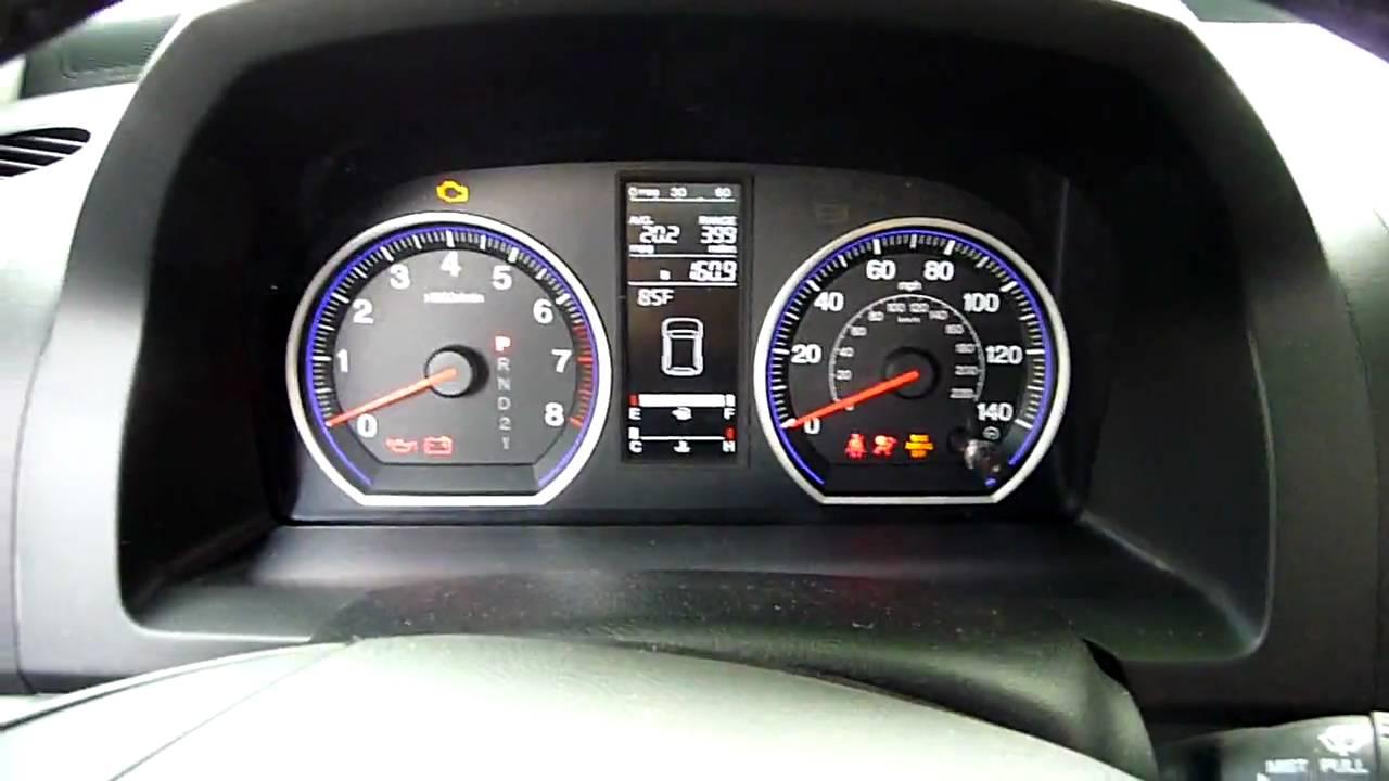 2009 Honda Cr V Ex L