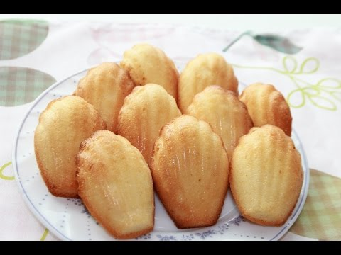 How to make madeleines /strawberry madeleines/cake/best ever -- Cooking A Dream