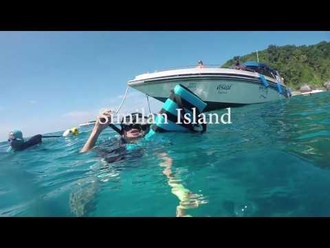 Exploring Phuket Old Town & Similan Island