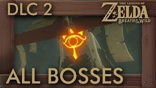 Zelda Breath of the Wild - Champions Ballad:  All Bosses (No Damage)