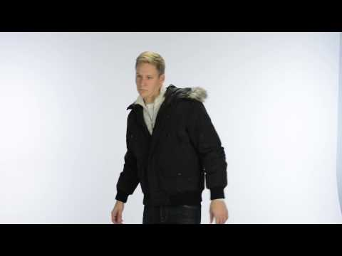 Kenneth Cole Down Coat - Hooded (For Men)