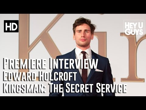 Edward Holcroft   Kingsman: The Secret Service Premiere