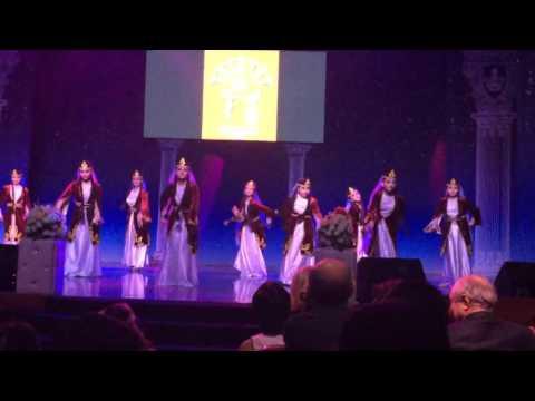 Ансамбль Армянского Танца Искры Армении при церкви Сурб Хач   Mokac Harsner