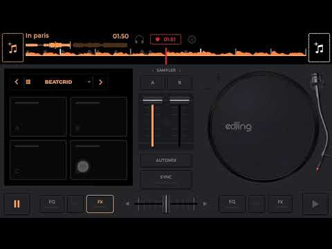 How to make DJ remix of a song in phone with edjing Mix