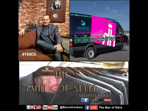 The Man of Style -Hallak Cleaners - all about dry cleaning