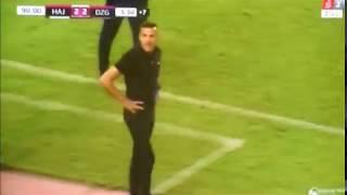بالفيديو.. لكمة تسقط الجزائري سوداني على أرض الملعب