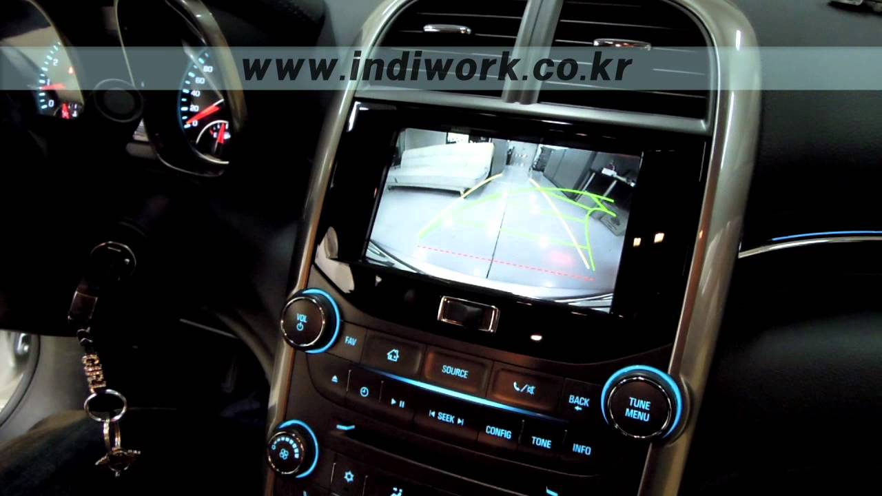 chevrolet malibu - 3D Navigation & P A S Rear Camera Install