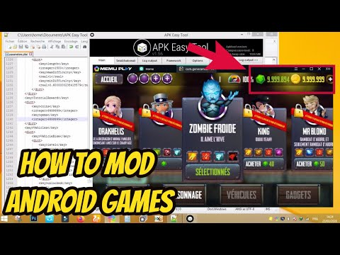 How To Mod Android Games New !!!