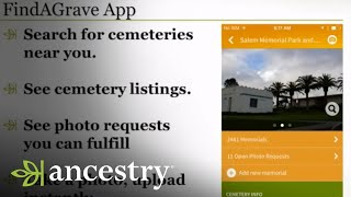 FindAGrave:  The Mobile App