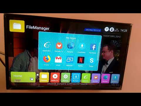 Thomson LED Smart TV How to Install and Run Skype