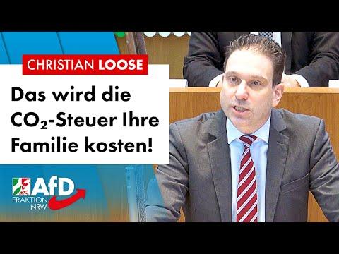 Das kostet Sie die CO2-Steuer – Christian Loose (AfD)