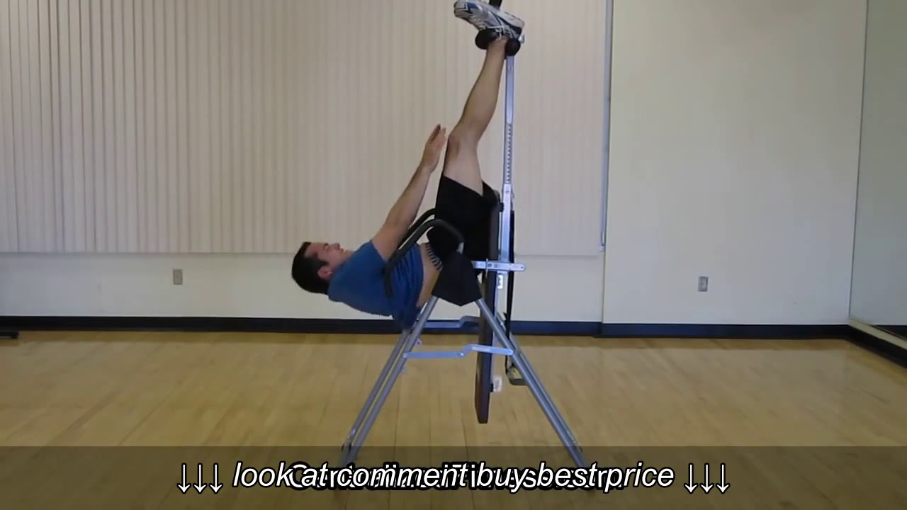 Bodyfit By Sports Authority Inversion Table Reviews