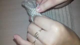 Шапка бини крючком-Красивый шов
