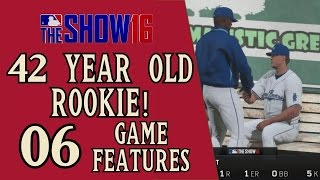42 year old rookie 06: Game features?
