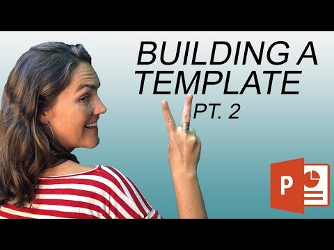 How To Create A PowerPoint Template: Placeholders, Footers & Slide Design (2 Of 3)