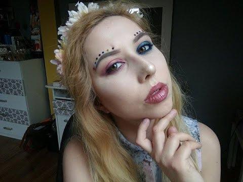 Makijaż Festiwalowy Mój Pierwszy Makijaż Na Kanale Youtube