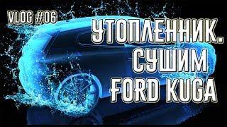 Разбираем и сушим Ford Kuga после затопления. Кошки Девон-Рекс. #06