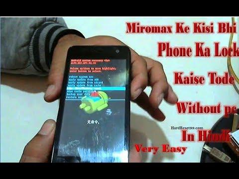 808fafa27 Micromax Ke Kisi Bhi Phone Ka Lock Kaise Tode Without pc Very easy ...