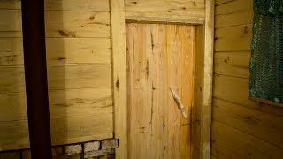 DIY ДВЕРЬ В БАНЮ (своими руками) The DOOR to the sauna with their hands
