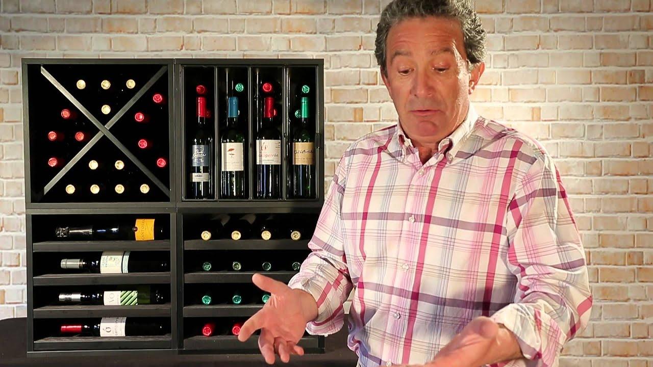 Accesorios de vino rejilla antihurto youtube for Muebles para vinos