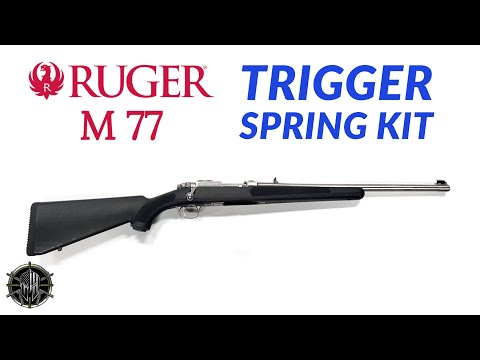 Ruger M 77 Trigger Spring Kit - Ruger M77 Trigger Ruger 77/17 Ruger 77/22 Ruger 77/357 Ruger 77/44