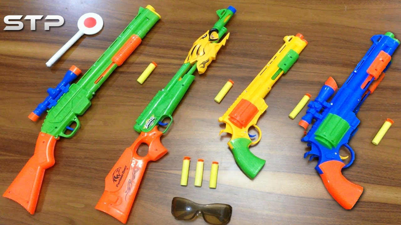 Top 10 nerf guns toy reviews for kids and parents - My Top 4 Toy Guns For Kids Colorful Shot Guns Toys China Fake Nerf Guns Shooting Toys