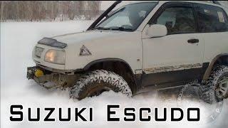 Suzuki Escudo.  Суперпроходимость Suzuki Escudo