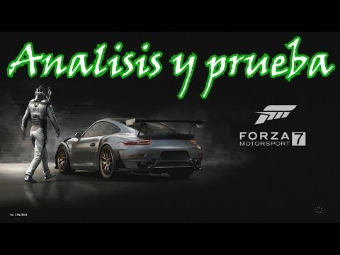 Analisis y prueba Forza Motorsport 7