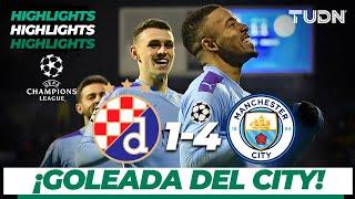 Highlights | Dinamo Zagreb 1 - 4 Manchester City | Champions League - J 6 - Grupo C | TUDN