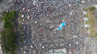 Así se cantó el himno de Guatemala la marcha pacífica