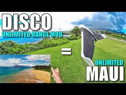 Parrot DISCO Ultimate Mods = Unlimited MAUI Hawaii BEACHES! 😱😍