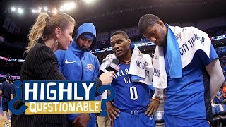 Should Thunder trade Russell Westbrook, Carmelo Anthony or Paul George? | Highly Questionable | ESPN