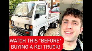 8 THINGS I WISH I KNEW *BEFORE* BUYING A KEI TRUCK
