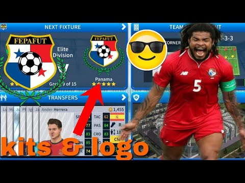 great fit 69756 0d674 Dream League Soccer 2019 | How To Make Panama National Team Kits & Logo