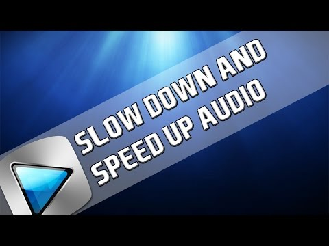 How To: Slow Down & Speed Up Audio in Sony Vegas Pro 11, 12 & 13
