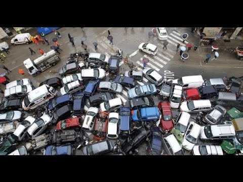 Car Accidents 2016 Fatal Death Car Accidents Caught on Camera [Violence +18]
