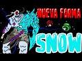 😱DESCUBRO la NUEVA FORMA de SNOW el IMPOSTOR de NIEVE en AMONG US MI HISTORIA⚠️ | mapaxe