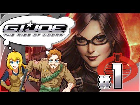 Gi Joe Rise Of Cobra Part 1 Foundation Mission Duke & Scarlett (HD)