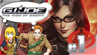 Gi Joe Rise Of Cobra Part 1 Foundation Mission Duke & Scarlett (HD)