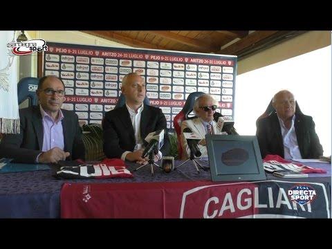 Cagliari Calcio - Presentazione ritiro precampionato 2016-17